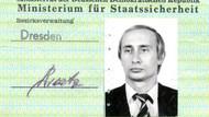 KGB ajanı Putin'in Stasi kimlik kartı ortaya çıktı