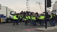 Sarı Yelekliler eylemi İngiltere'ye sıçradı
