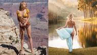 Playboy modeli Sara Jean Underwood doğa fotoğraflarıyla ilgi görüyor