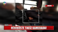 Otobüste bebekli kadına iğrenç taciz