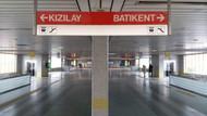 Başkent'te metroyu durduran intihar