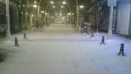 Tekirdağ'da eğitime kar engeli