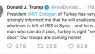 Trump'tan dikkat çeken Erdoğan paylaşımı