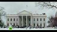 Russia Today'den Donald Trump'lı Beyaz Saray'a Noel müdahalesi videosu