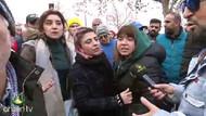 Ahsen TV muhabiri piyango bileti kuyruğundaki kadınları çıldırttı