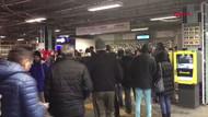 İntihar nedeniyle İstanbul'da metro seferleri durduruldu