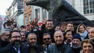 CHP'nin İstanbul adayı İmamoğlu Çarşı'yı ziyaret etti