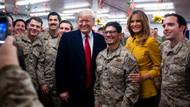 Donald Trump ve eşinden Irak'a sürpriz ziyaret
