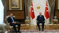Erdoğan Ali Koç ile Beştepe'de görüştü: İlk fotoğraf