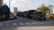 Kilis'ten Menbiç'e askeri sevkiyat devam ediyor