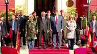 Son dakika: Venezuelalı askerler Erdoğan'ı İstiklal Marşıyla karşıladı