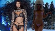 Kendall Jenner -2 derecede bikiniyle karların üzerinde ne yapıyor?