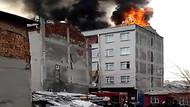 İstanbul'dun göbeğinde korkutan yangın