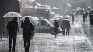 Meteoroloji'den İstanbul'a uyarı! Sağanakla beraber soğuyacak...