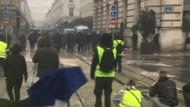 Sarı Yelekliler eyleminde bir Türk elini kaybetti