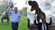 Melih Gökçek: Dinozor parkıyla övüneceğinize gülüyorsunuz