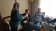 Meral Akşener şehit binbaşının ailesini ziyaret etti