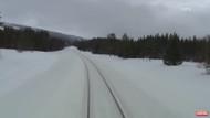 Canlı yayın Tren kamerasından Norveç manzaraları
