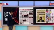 Akit TV spikerinden Cumhuriyet'e: Sizin gibileri katletmek mübah