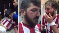 Amatör ligde 4 futbolcu maçtan sonra feci şekilde dövüldü