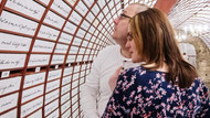 Slovakya'daki aşk bankasına Sevgililer Günü'nde yoğun ilgi
