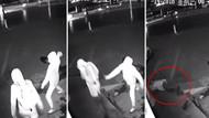Beceriksiz hırsız tuğlayı vitrin camı yerine arkadaşının kafasına atınca