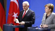 Merkel'le bir araya gelen Yıldırım'dan Deniz Yücel açıklaması