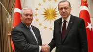 Erdoğan Tillerson görüşmesi başladı