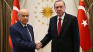 Erdoğan ve Bahçeli'den seçim ittifakı görüşmesi