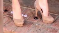Topuklu ayakkabı giyen kadınlar buna bayılacak
