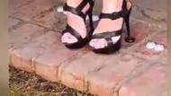 Topuklu ayakkabı giyen kadınlara kolaylık