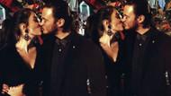 Pelin Akil ve Anıl Altan'dan ödül töreninde olay öpüşme