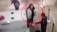 Havaalanında kadın yolculara taciz skandalı!