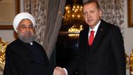 Erdoğan ve Ruhani'den flaş görüşme
