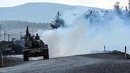 Türk tankları Afrin'e doğru ilerlemeye devam ediyor