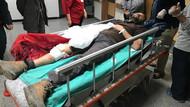 AA muhabiri Sarp Özer, Afrin'deki roket saldırısında yaralandı
