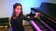 Minik piyanist Damla'dan uluslararası başarı