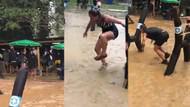 Survivor adasını sel aldı: Acun Ilıcalı görüntüleri paylaştı