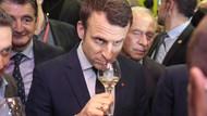 Fransa Cumhurbaşkanı Macron'dan şarap tepkisi! Milli içkiye laf söyletmiyor