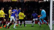 Cenk Tosun 4. maçına çıktı ama.. Watford 1-0 Everton