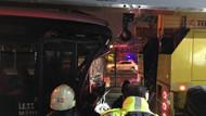 Son dakika: Haramidere'de metrobüs kazası; 1 ağır 22 yaralı
