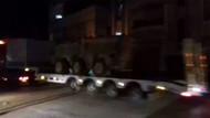 ABD'den YPG'ye giden zırhlı araçlar böyle görüntülendi