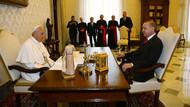 1959'dan beri bir ilk: Cumhurbaşkanı Erdoğan Vatikan'da Papa ile görüşüyor