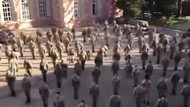 Türk kadın subaylarının olay videosu