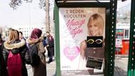 Kayseri'de sütyen reklamını ahlaksız bulup sansürlediler