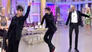 Tarık Mengüç ve oğlunun Seda Sayan'da çılgın dansı