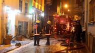 İstanbul'da 7 katlı otelde yangın dehşeti: Alevlerin arasına daldı...
