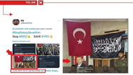 PYD/PKK destekçileri Erdoğan'ın fotoğrafını montajlayarak yalan üretti