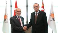 Erdoğan, Karamollaoğlu ile AKP Genel Merkezinde buluştu