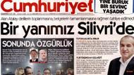 Ahmet Şık ve Murat Sabuncu'ya tahliye Cumhuriyet'e böyle manşet oldu